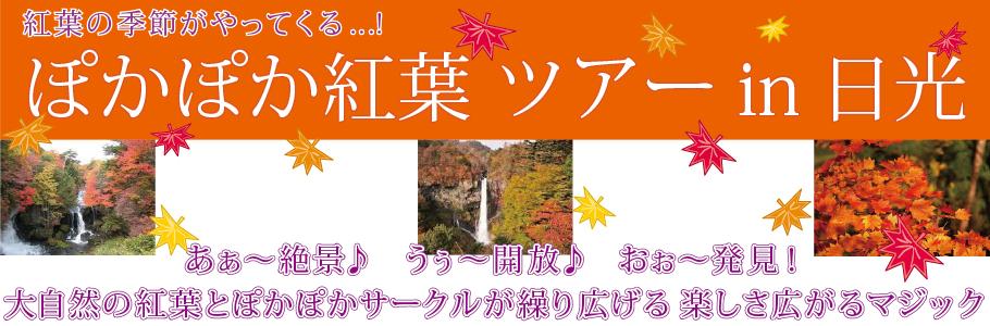 紅葉日光 東京観光