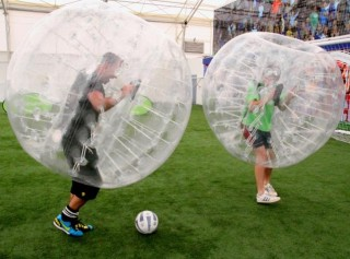 バブルサッカードリブル