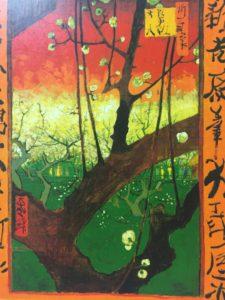 ジャポネズリー:梅の開花