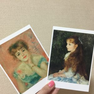 イレーヌ・カーン・ダンヴェール嬢と ジャンヌ・サマリーの肖像